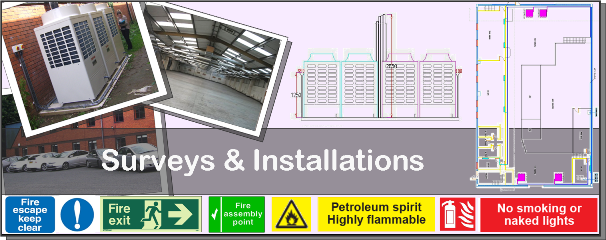 Take a look at our Surveys & Installations (click here)